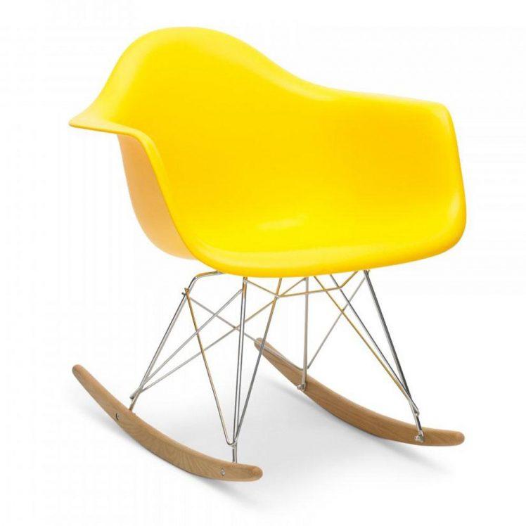 studioHR, RAR stolca za ljuljanje žute boje, slika 02