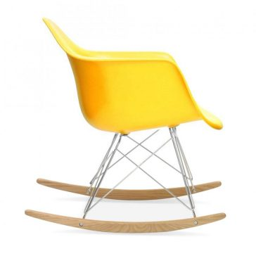 studioHR, RAR stolca za ljuljanje žute boje, slika 03