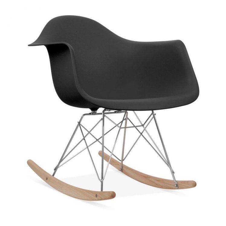 studioHR, RAR stolca za ljuljanje crne boje, slika 02