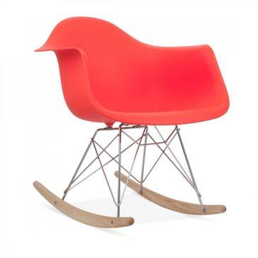 studioHR, RAR stolca za ljuljanje crvene boje, slika 02