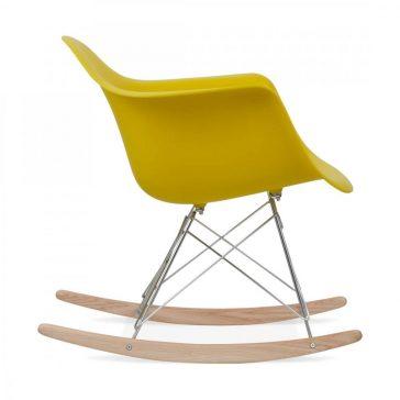 studioHR, RAR stolca za ljuljanje oker žute boje, slika 03