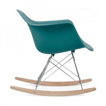 studioHR, RAR stolca za ljuljanje petrolej zelene boje, slika 03