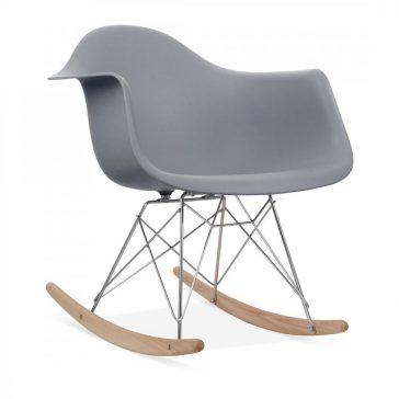 studioHR, RAR stolca za ljuljanje sive boje, slika 02