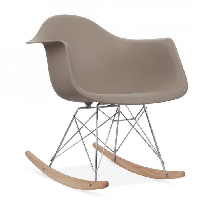studioHR, RAR stolca za ljuljanje sivo smeđe boje, slika 02