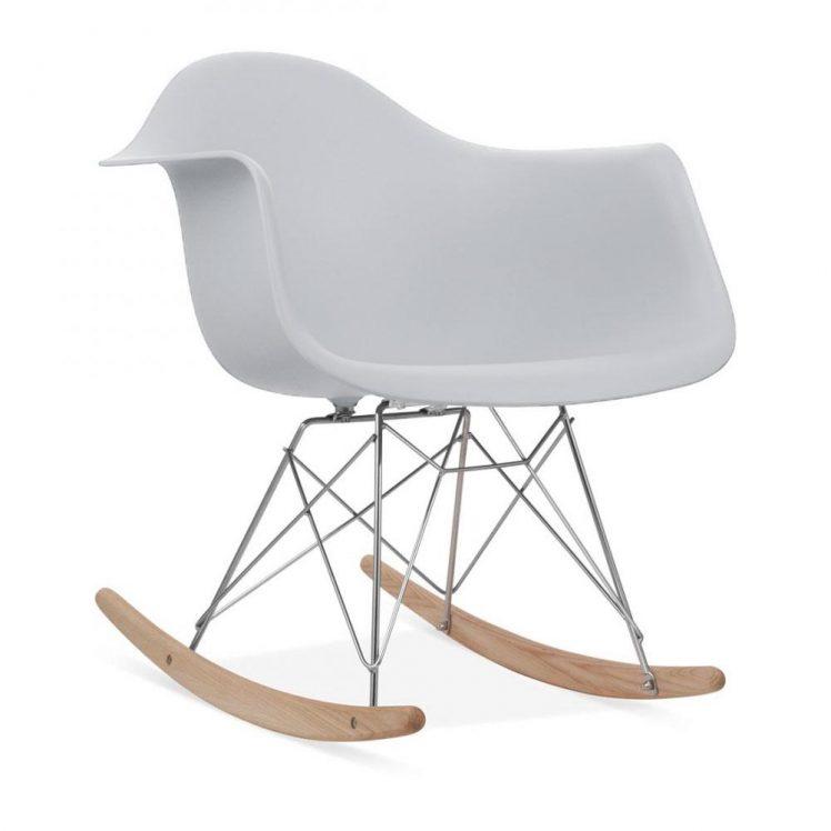studioHR, RAR stolca za ljuljanje svijetlo sive boje, slika 02
