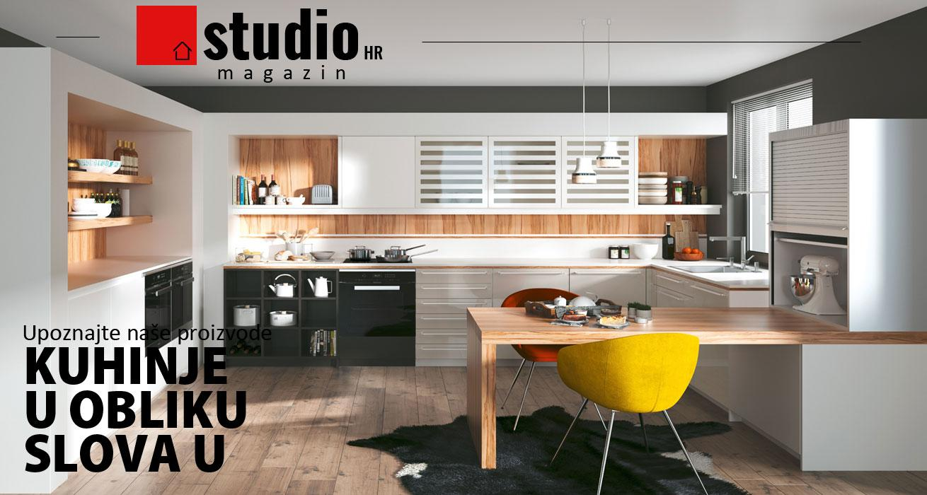 studioHR magazin, kuhinje na U