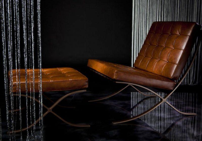 studioHR, Dizajnerske fotelje, Kožne fotelje, Barcelona Chair REPLIKA slika 01